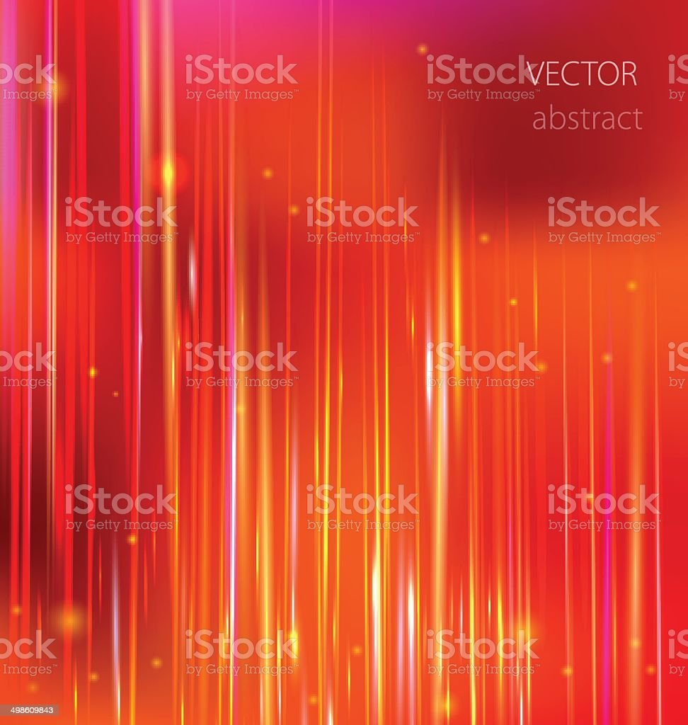 vector red abstract background with colorful motion blur shining vector art illustration