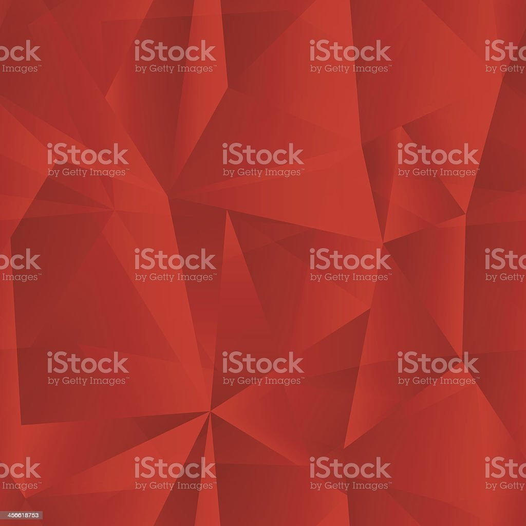 vector red geometric shapes abstract background vector art illustration