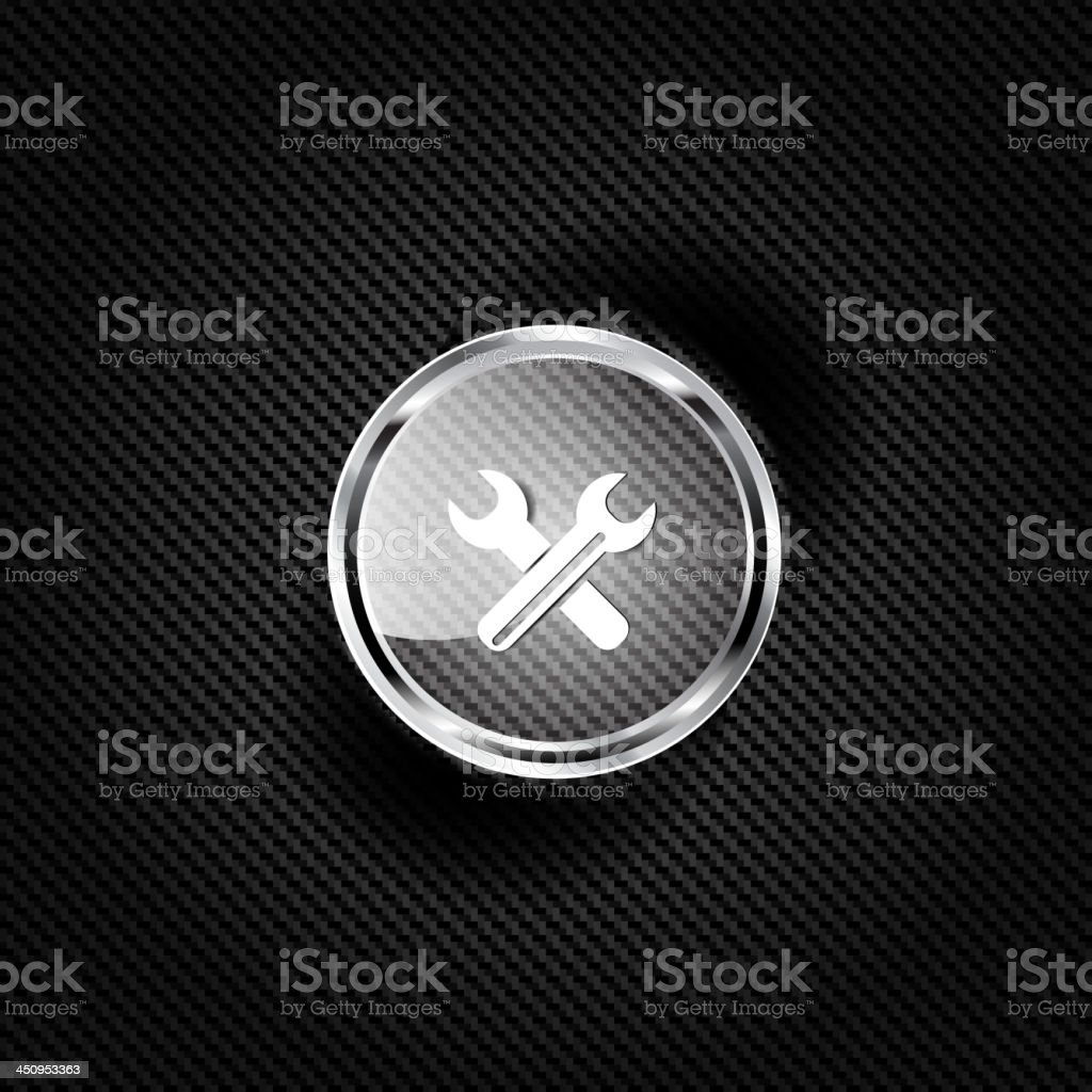 Vector repair web icon royalty-free stock vector art