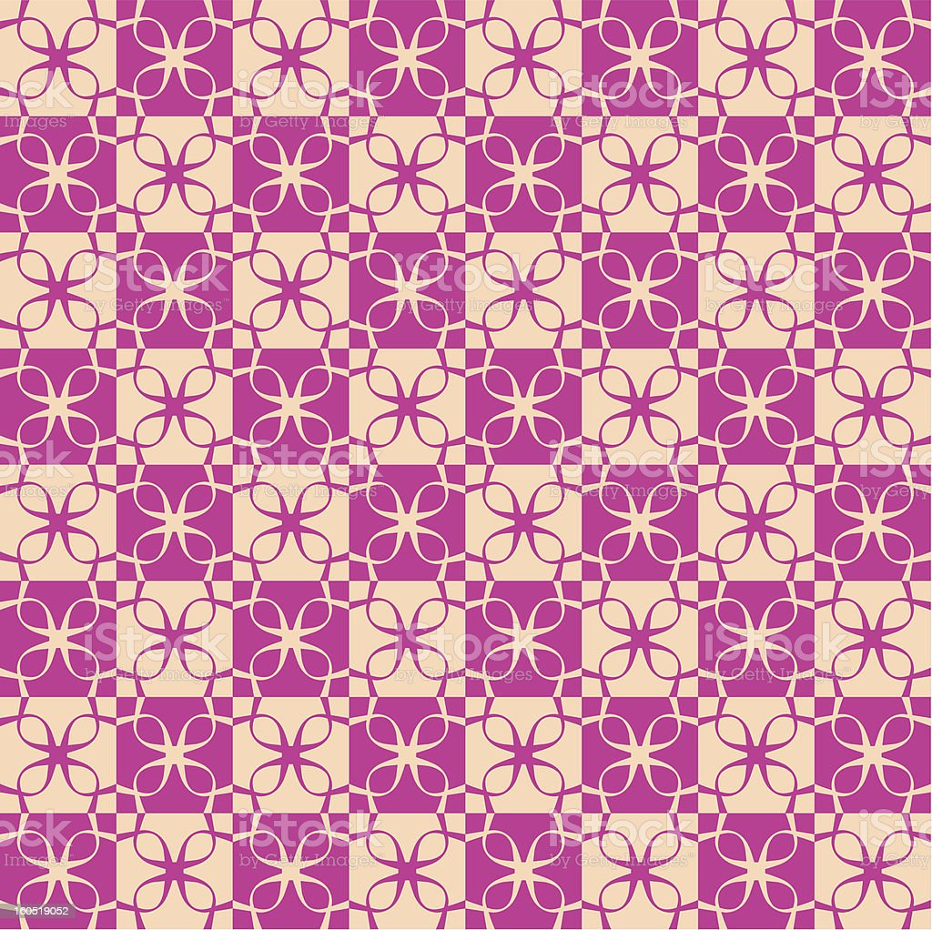 Vector Ribbon Abstract Checkered Background Pattern Tile royalty-free stock photo