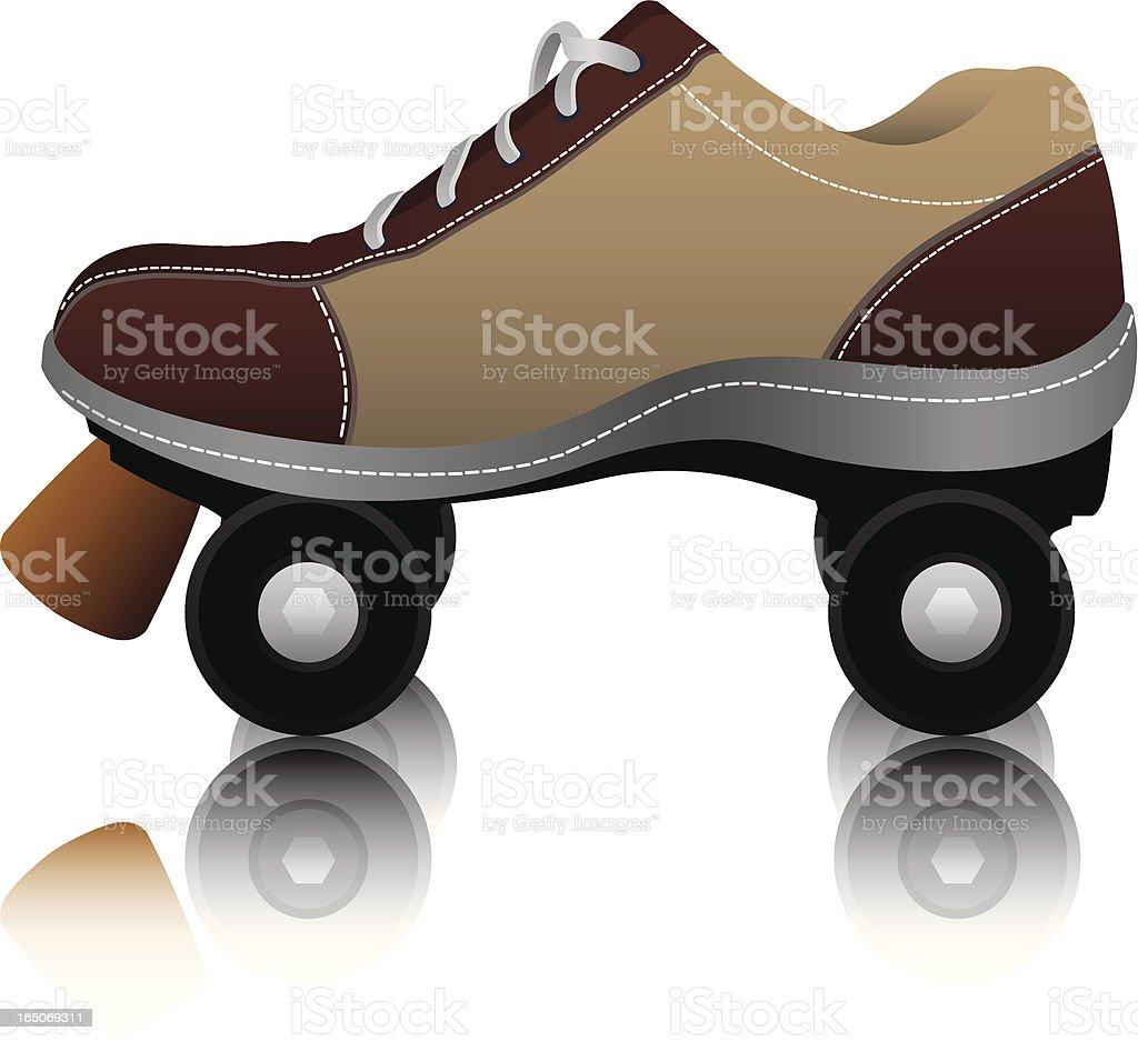 Vector Rollerskate royalty-free stock vector art