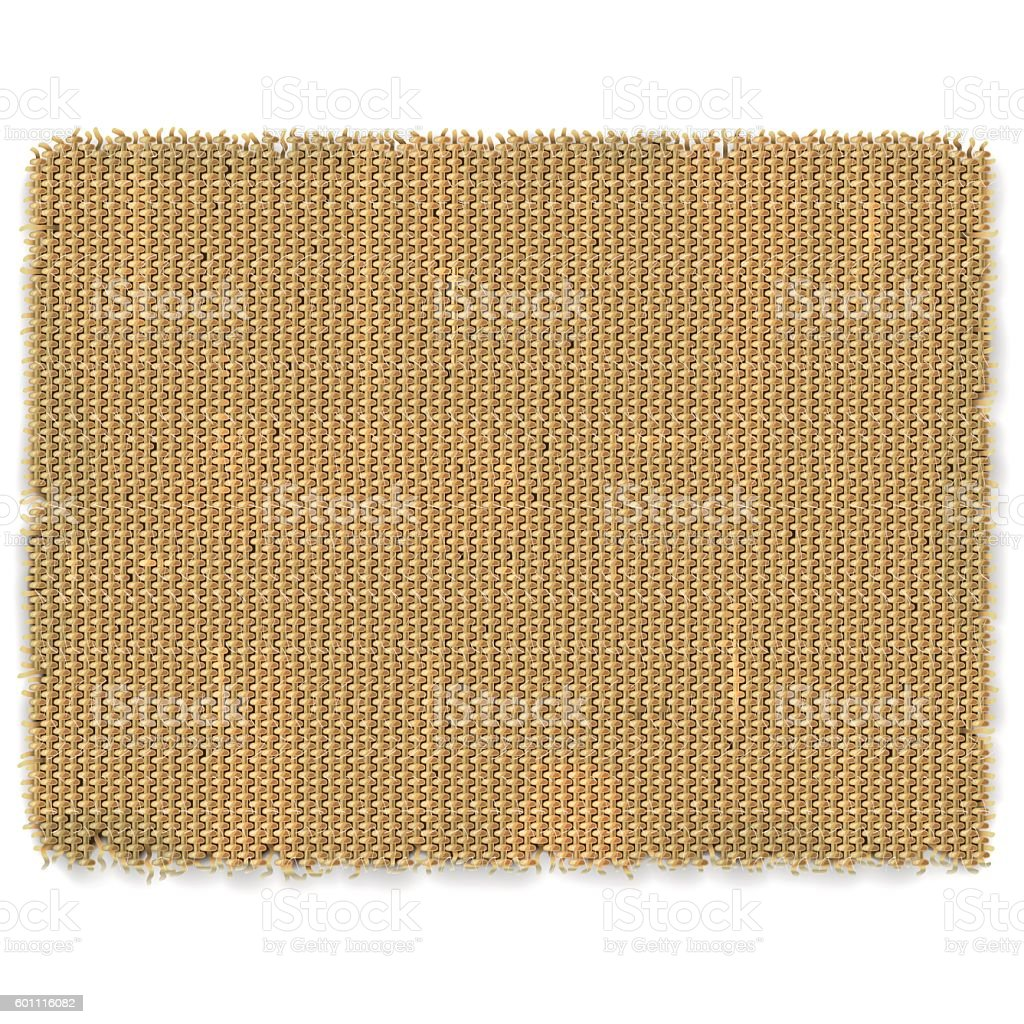 Vector Sackcloth Frame vector art illustration