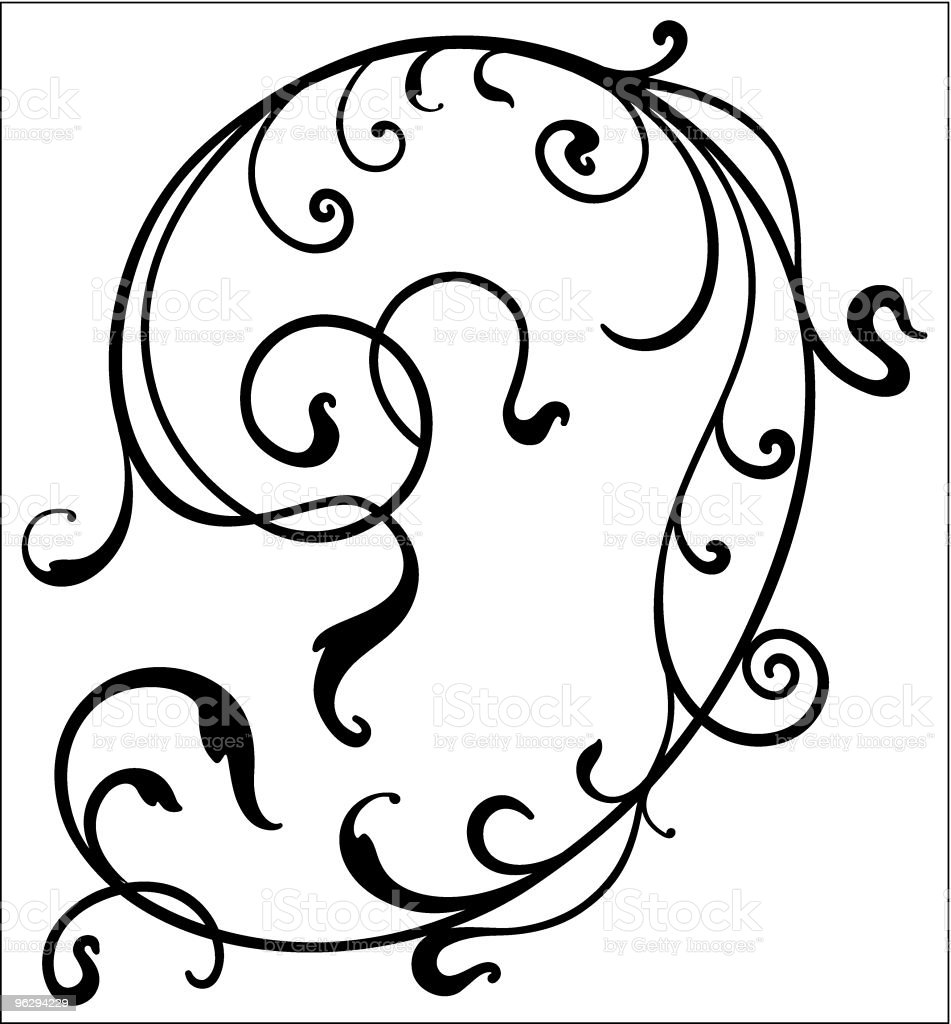 vector scroll royalty-free stock vector art