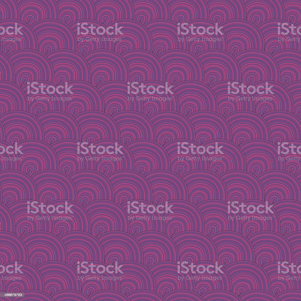 vector seamless abstract hand-drawn pattern, waves background vector art illustration
