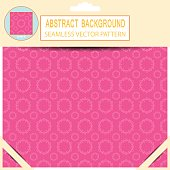 Vector seamless abstract light pink pattern in the package with
