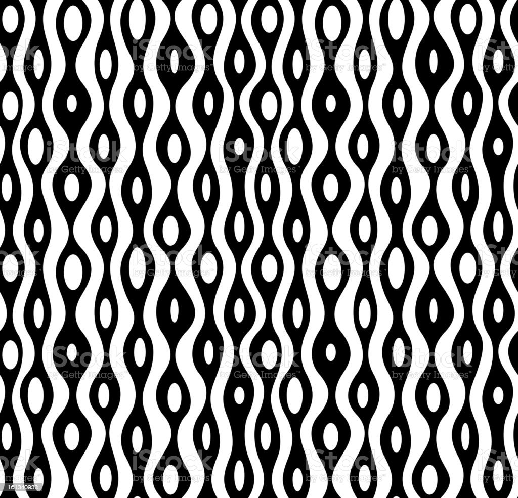 vector seamless abstract monochrome pattern royalty-free stock vector art
