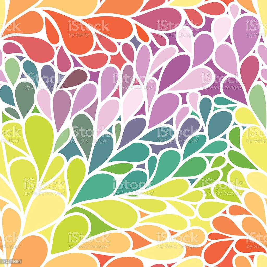 Vector seamless abstract ornament vector art illustration