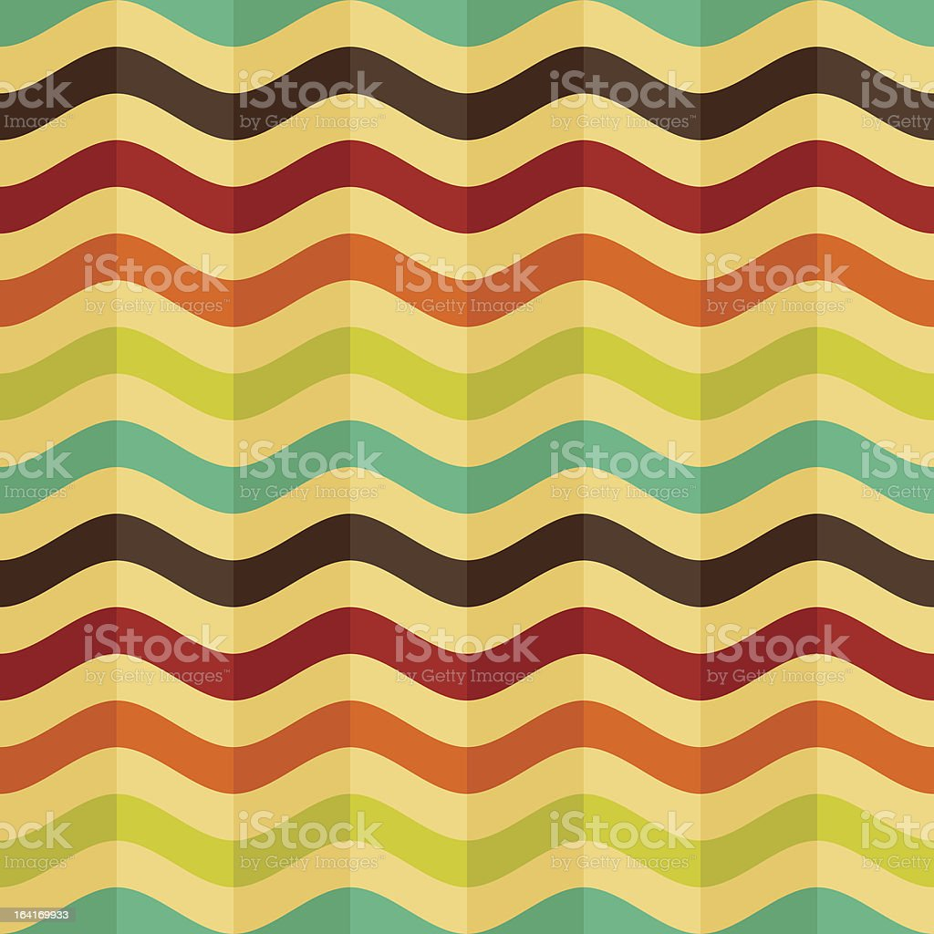 vector seamless background with stripes in retro style royalty-free stock vector art