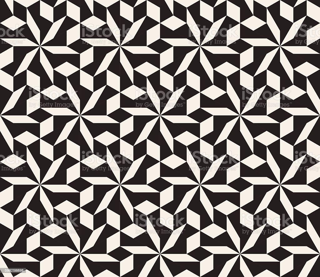 free geometric tessellation rose