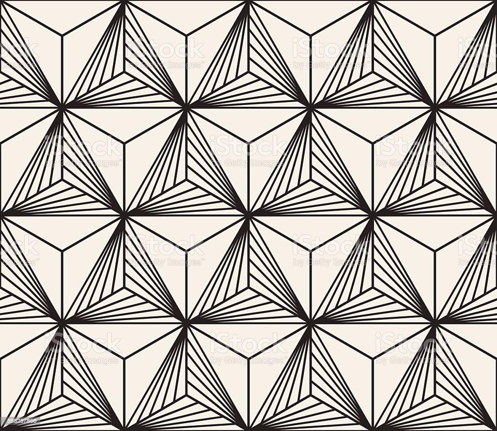 vector seamless black white geometric bursting lines