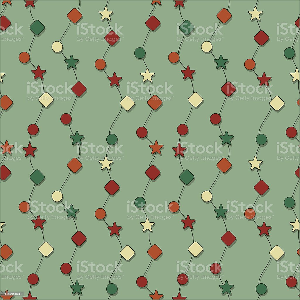 vector seamless christmas pattern royalty-free stock vector art