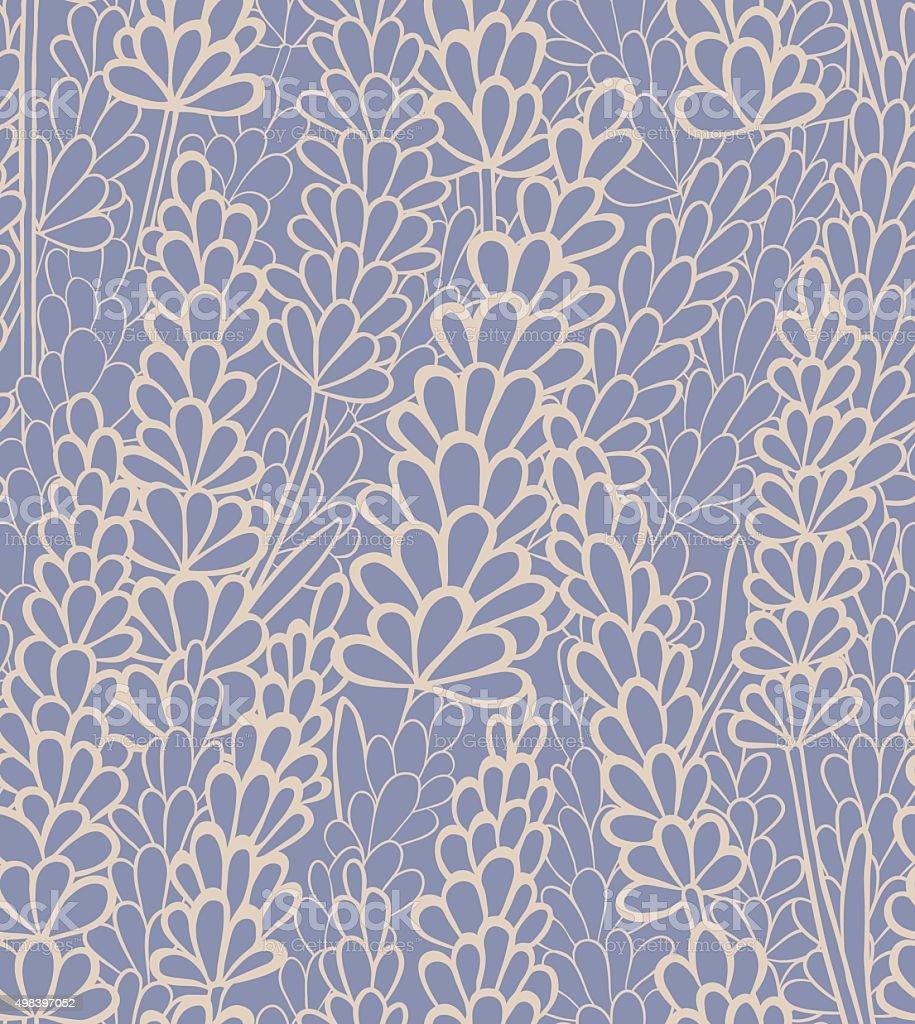vector seamless lavender background vector art illustration