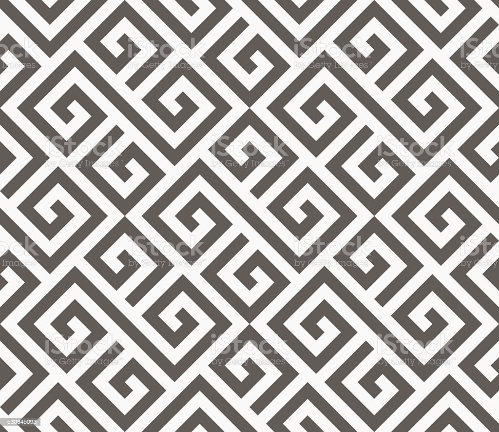 Vector seamless pattern. Geometric texture. vector art illustration