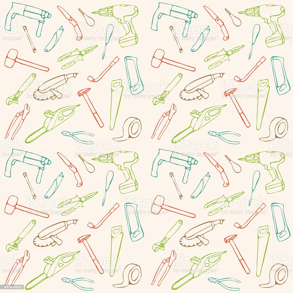 vector seamless pattern, vector art illustration