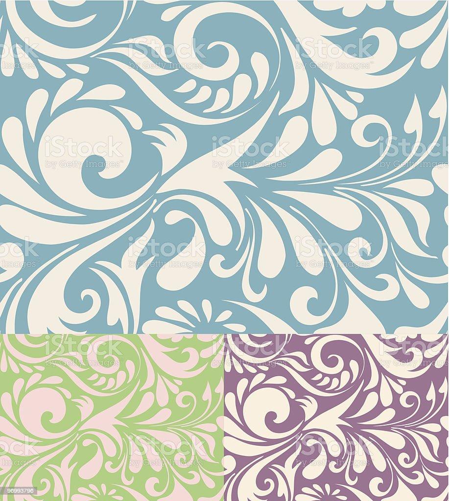 Vector seamless pattern royalty-free stock vector art