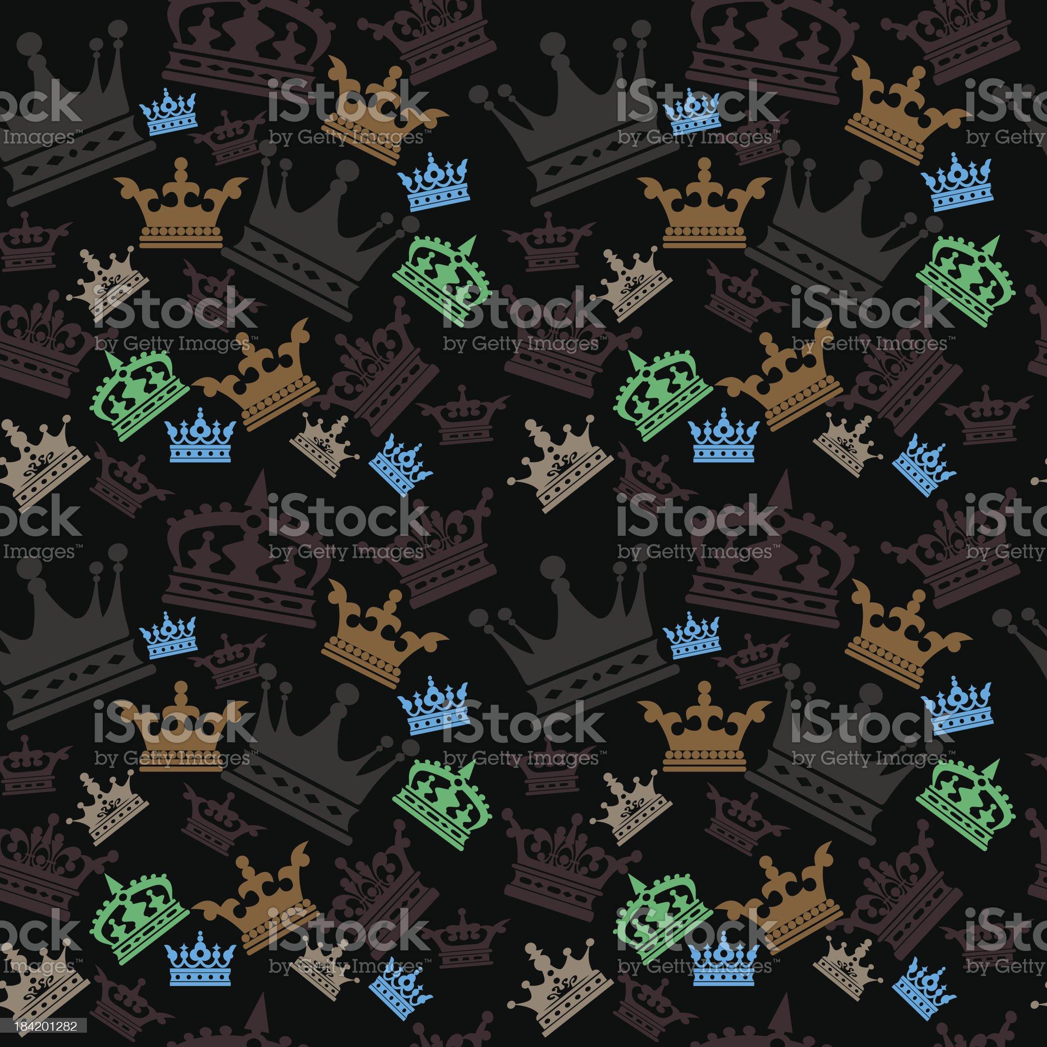 vector. seamless pattern. wallpaper royalty-free stock vector art
