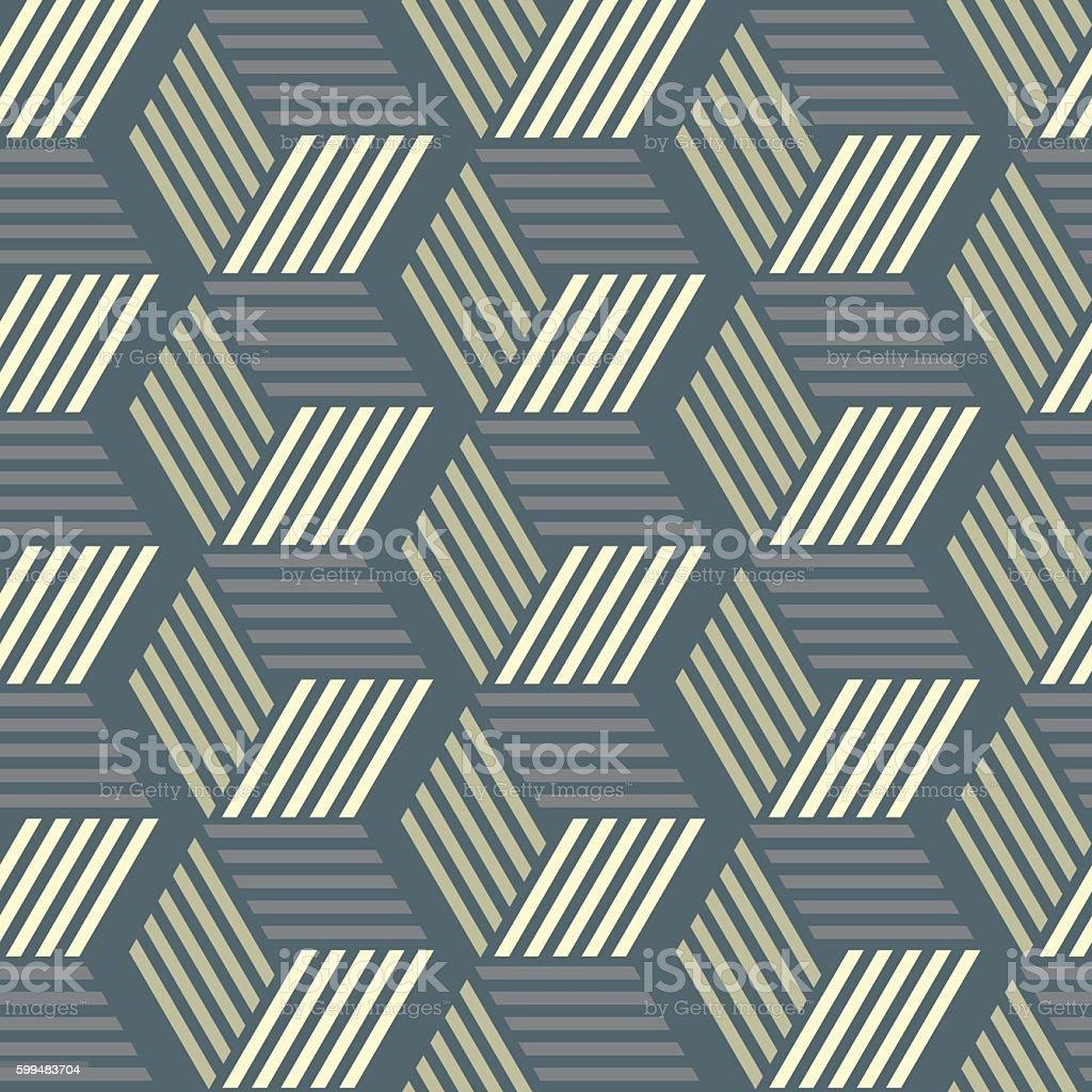 Vector seamless pattern.Abstract geometric texture. vector art illustration
