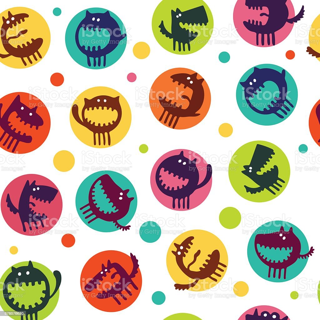 Vector seamless patterns for the summer theme royalty-free stock vector art