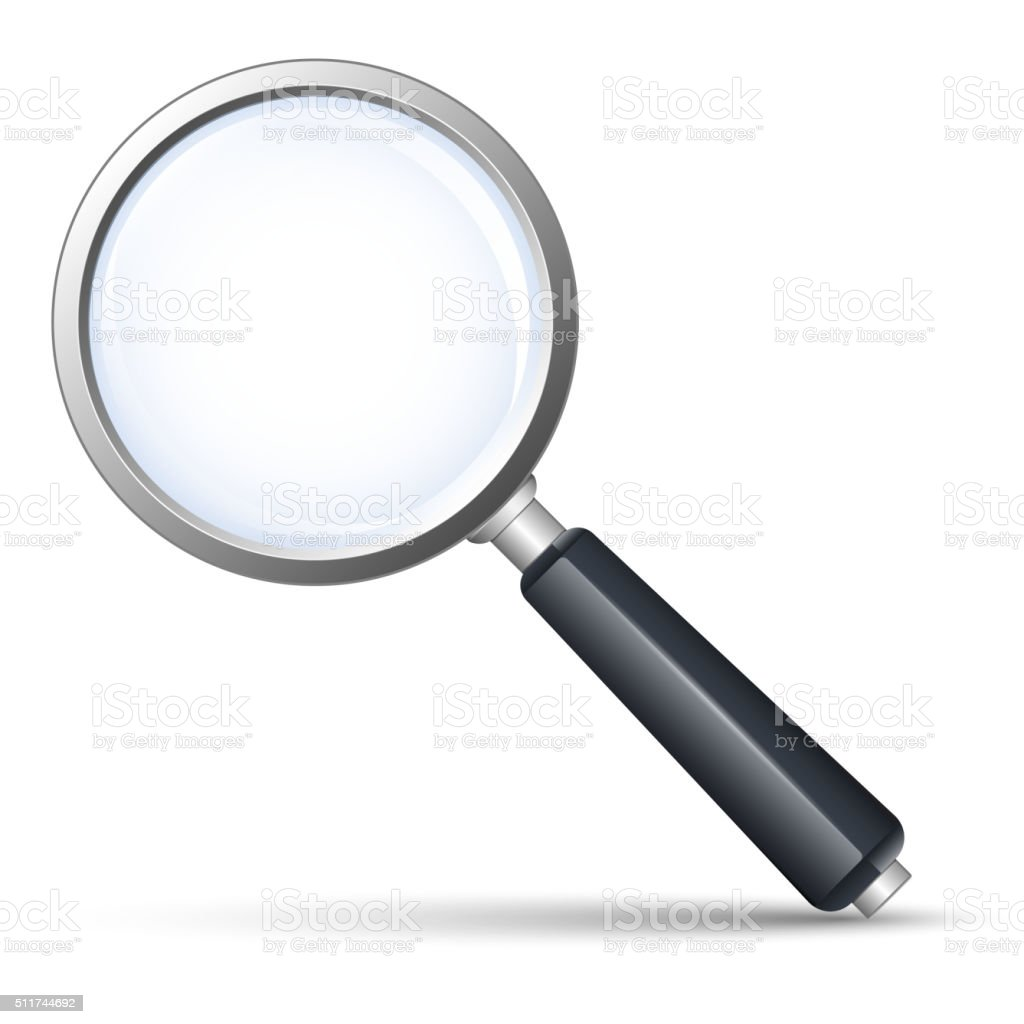 Vector search icon vector art illustration