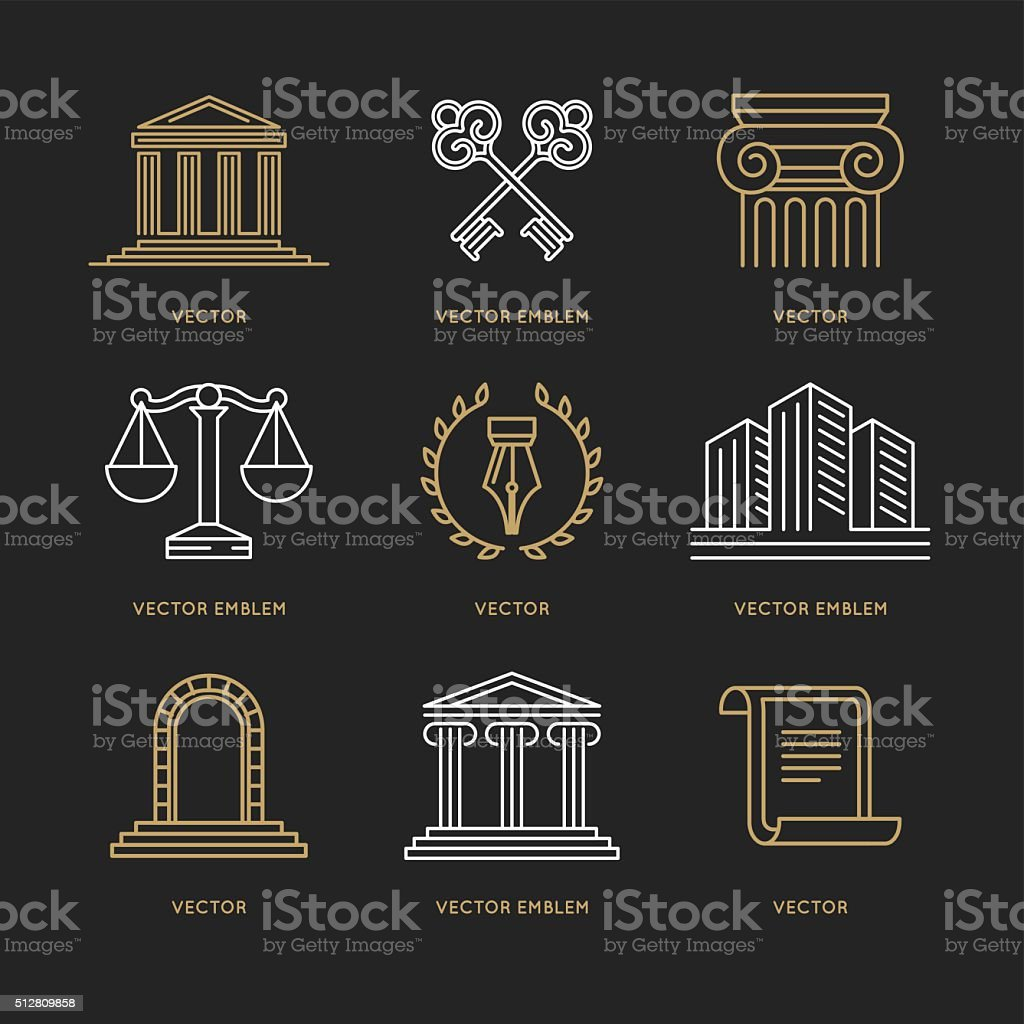 Vector set of design templates vector art illustration