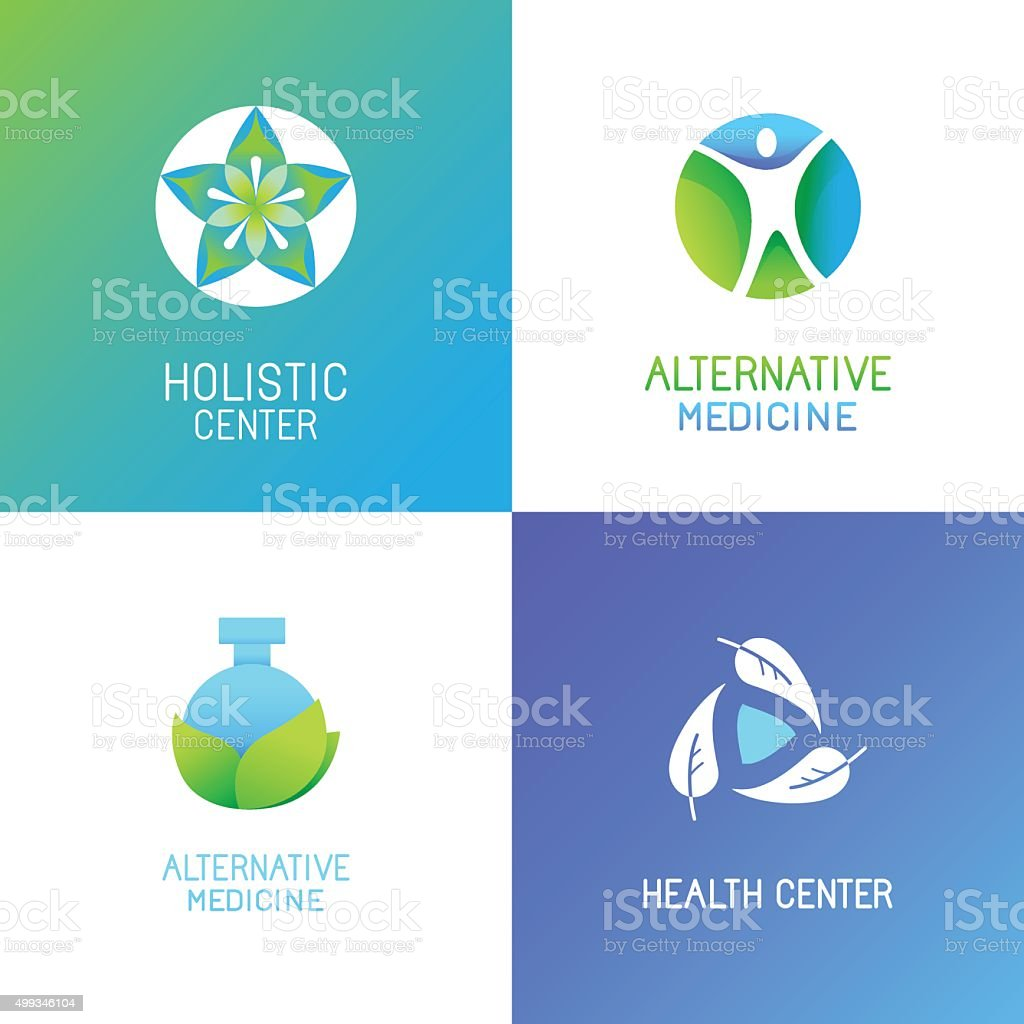 Vector set of emblems and logo design templates vector art illustration