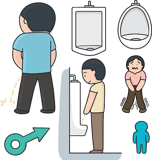 Cartoon Of A Pissing Boy Clip Art, Vector Images & Illustrations ...