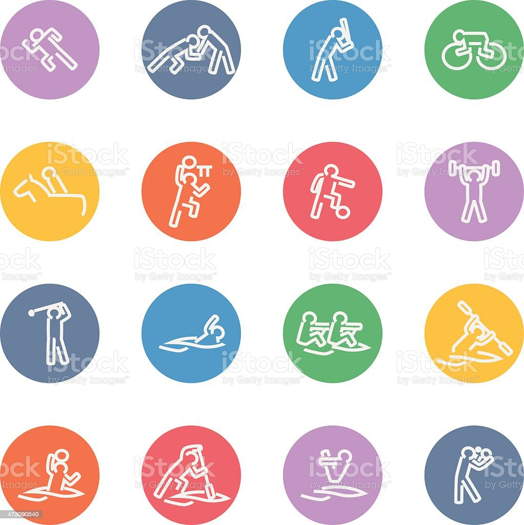 Vector File of Sport Icon Set