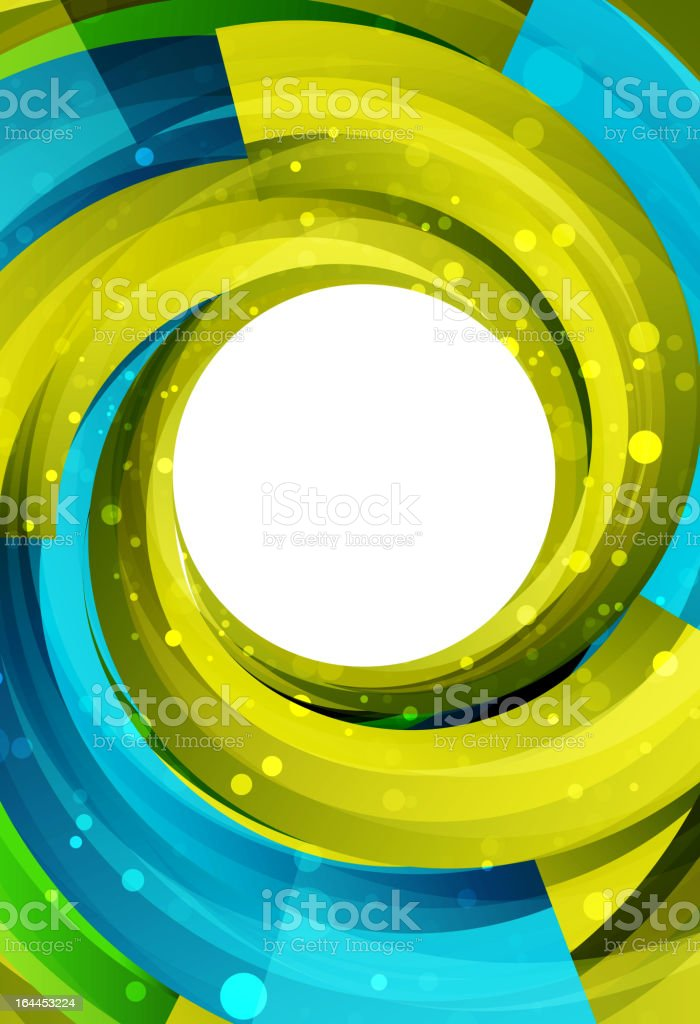Vector shiny swirl spiral background royalty-free stock vector art