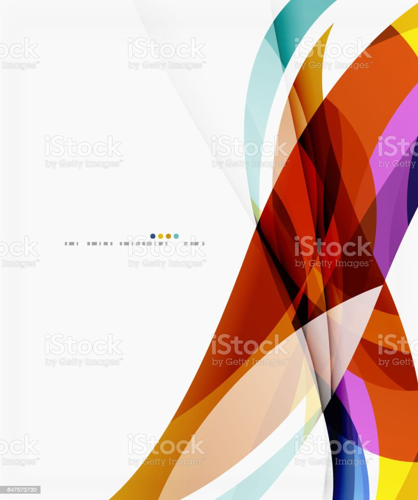 Vector silk wave background vector art illustration