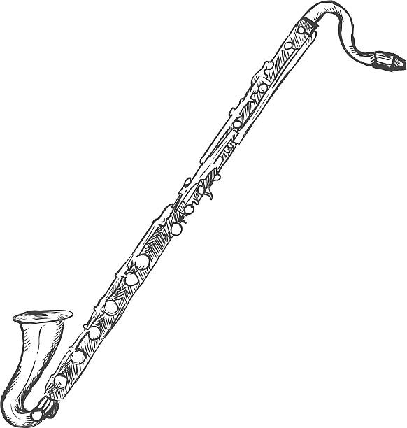 Clarinet Clip Art, Vector Images & Illustrations - iStock