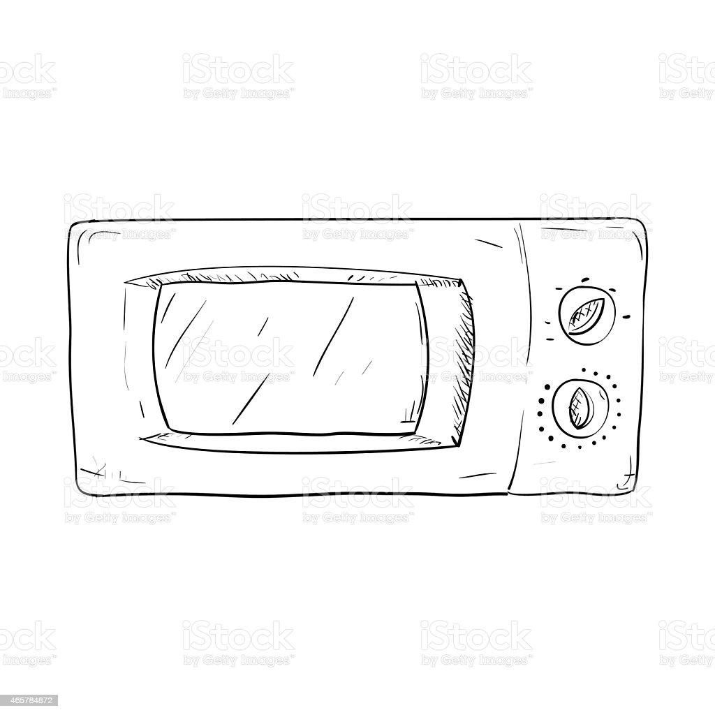 schizzo di vettoriali disegnati a mano di utensili da cucina ... - Utensili Cucina On Line