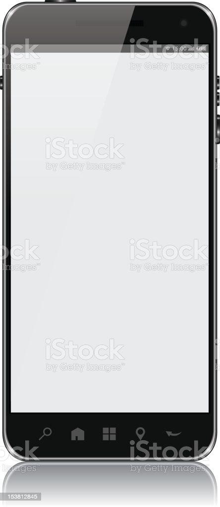 Vector Smart Phone royalty-free stock photo