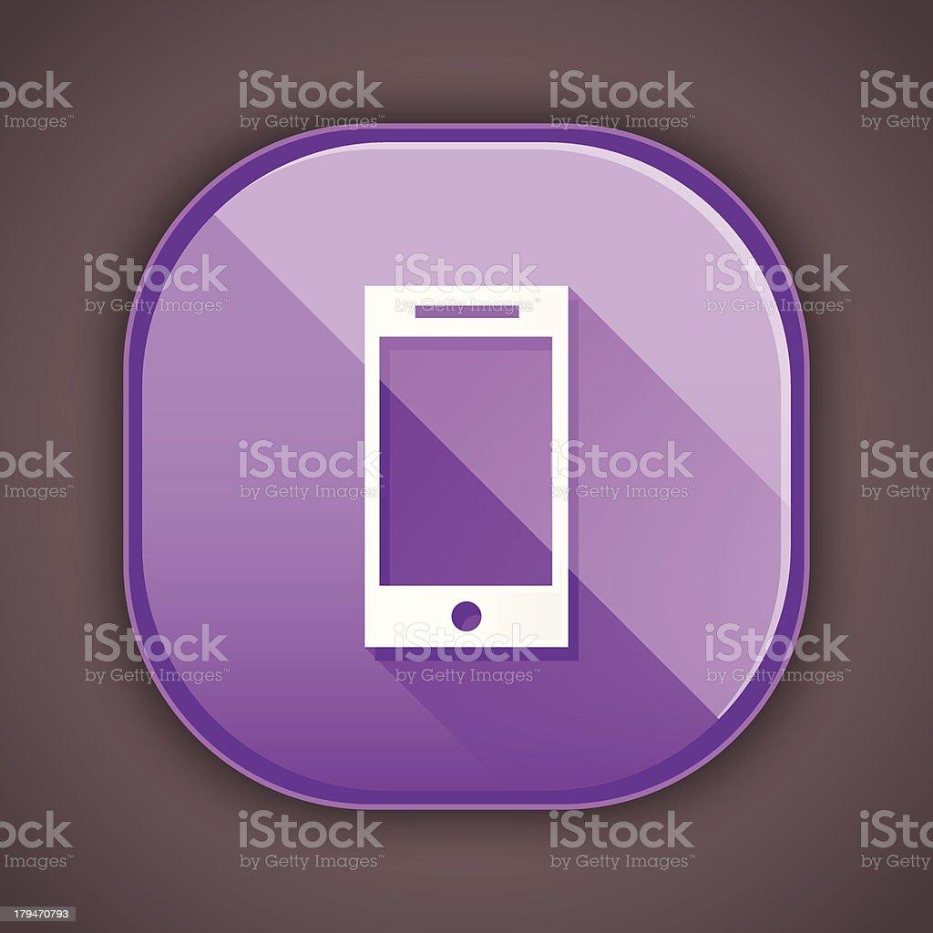 Vector Smartphone Icon royalty-free stock vector art