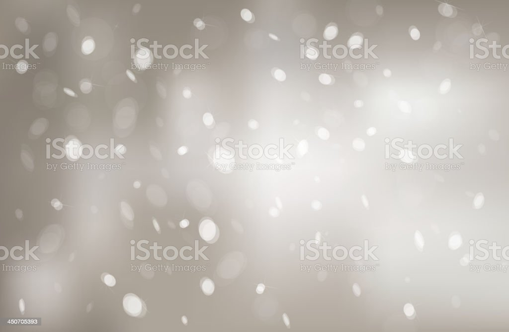Vector snowfall background. royalty-free stock vector art