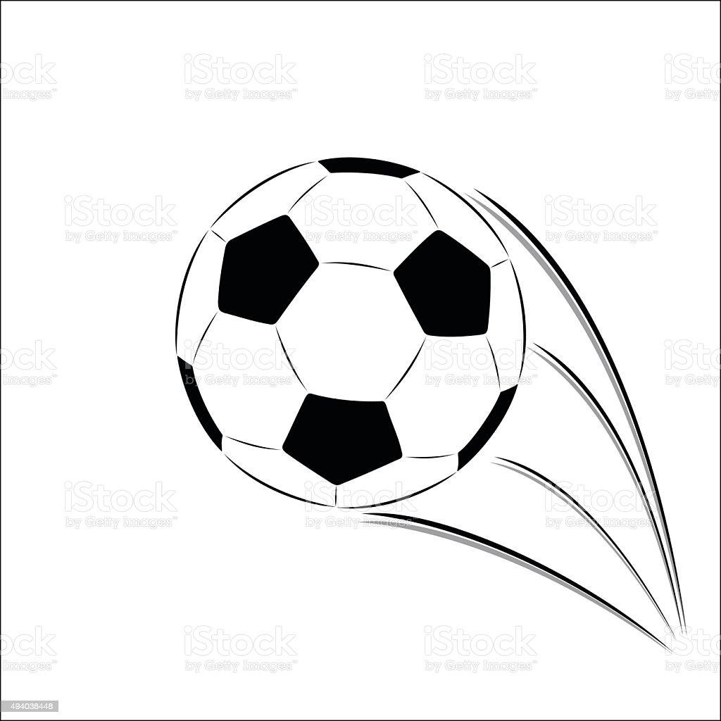 Vector Soccer ball royalty-free stock vector art