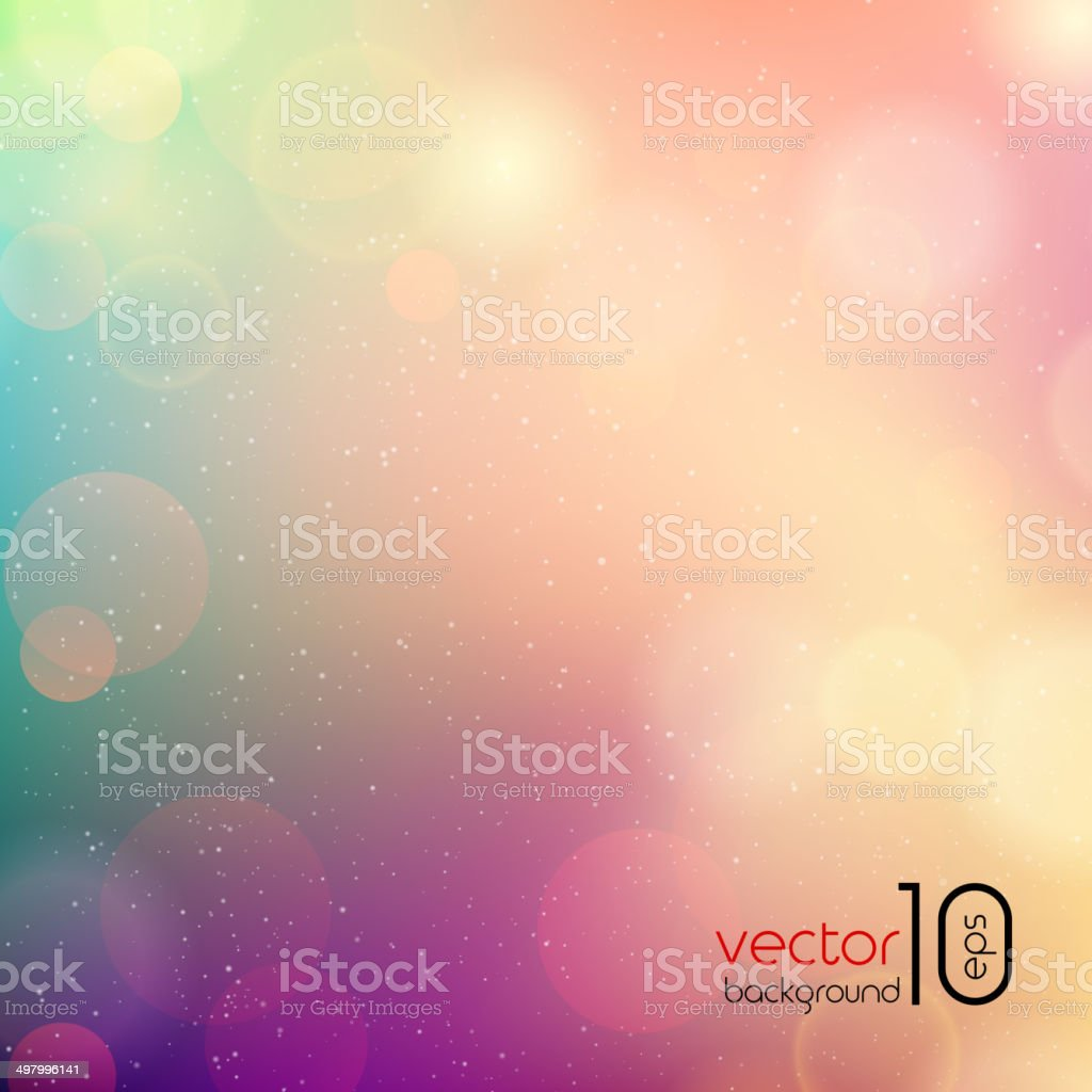 Vector soft colored abstract background vector art illustration