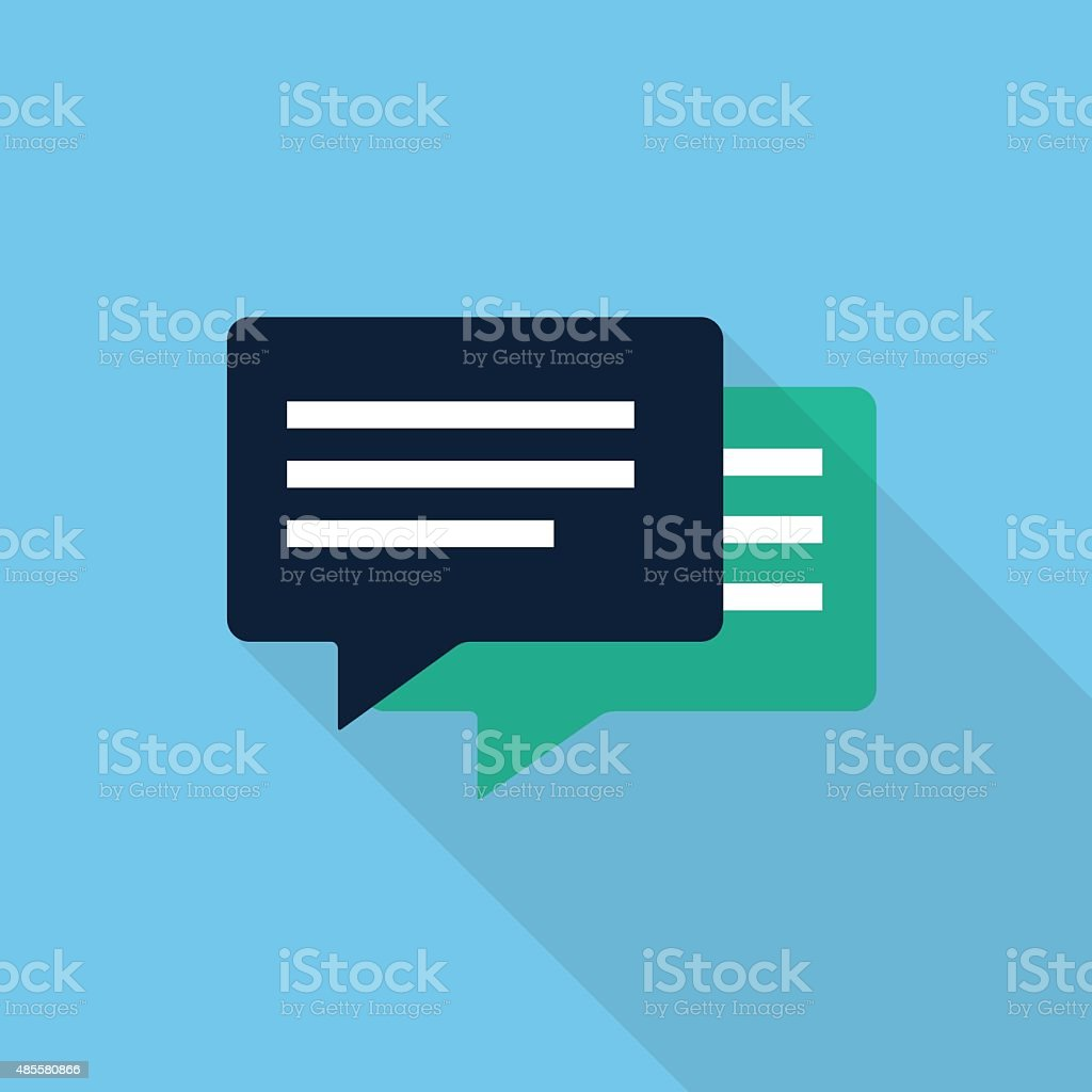 Vector Speech Bubbles vector art illustration