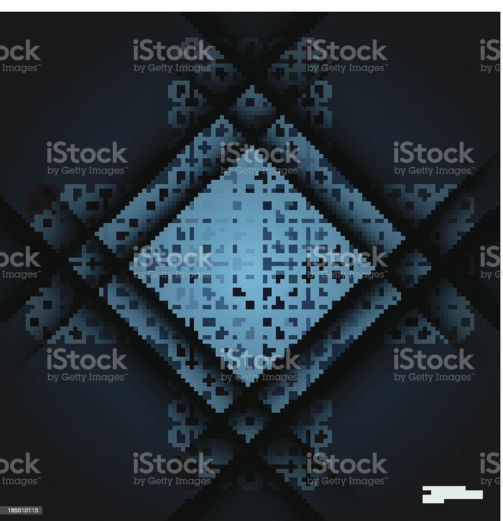 vector square royalty-free stock vector art
