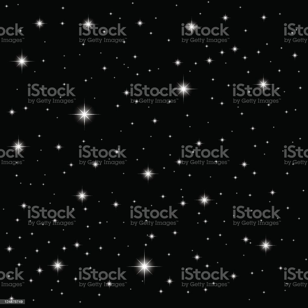 Vector Stars vector art illustration
