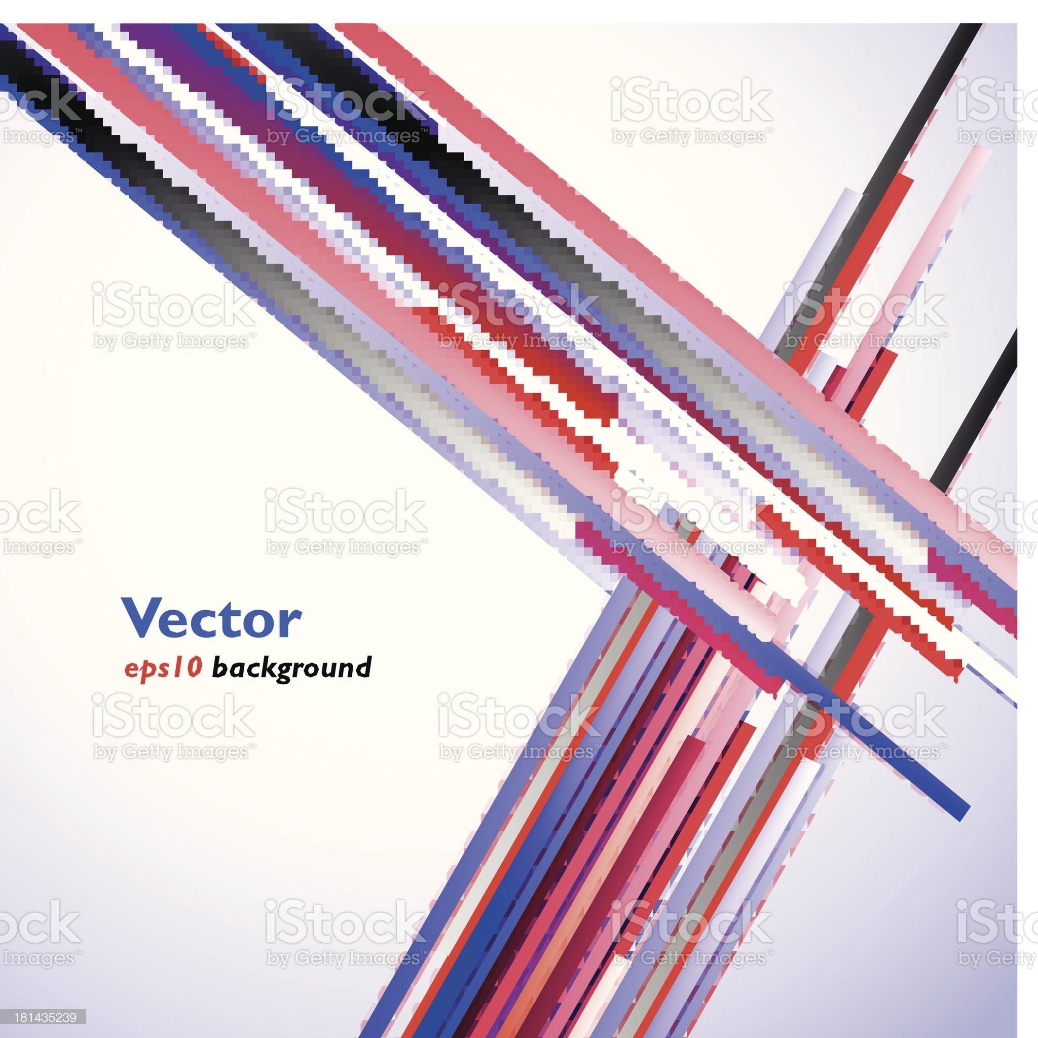 Vector strips royalty-free stock vector art