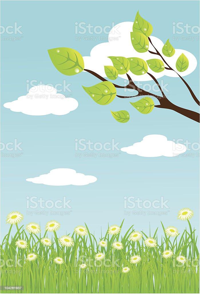 vector summer background. royalty-free stock vector art