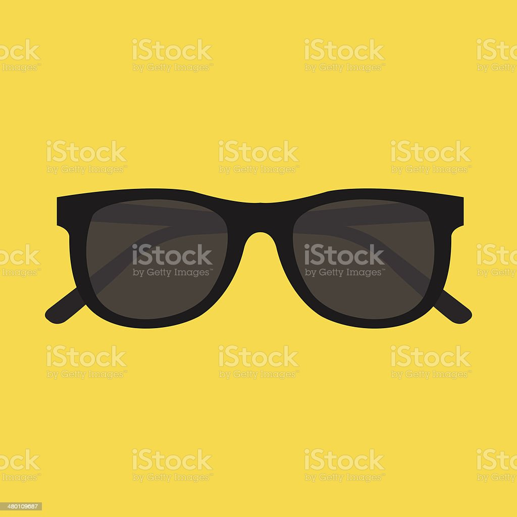 Vector Sunglasses Icon vector art illustration