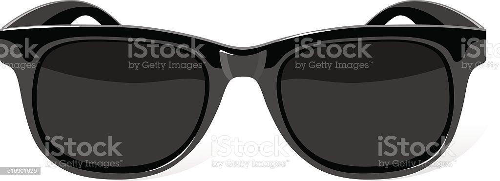 vector sunglasses vector art illustration