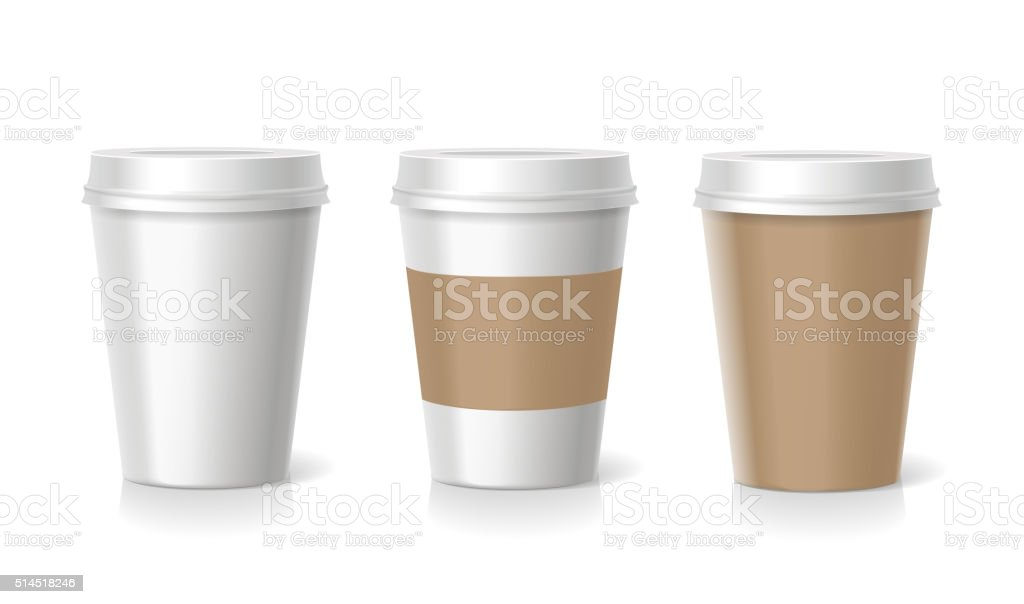 Vector Takeaway  coffee cup illustration vector art illustration