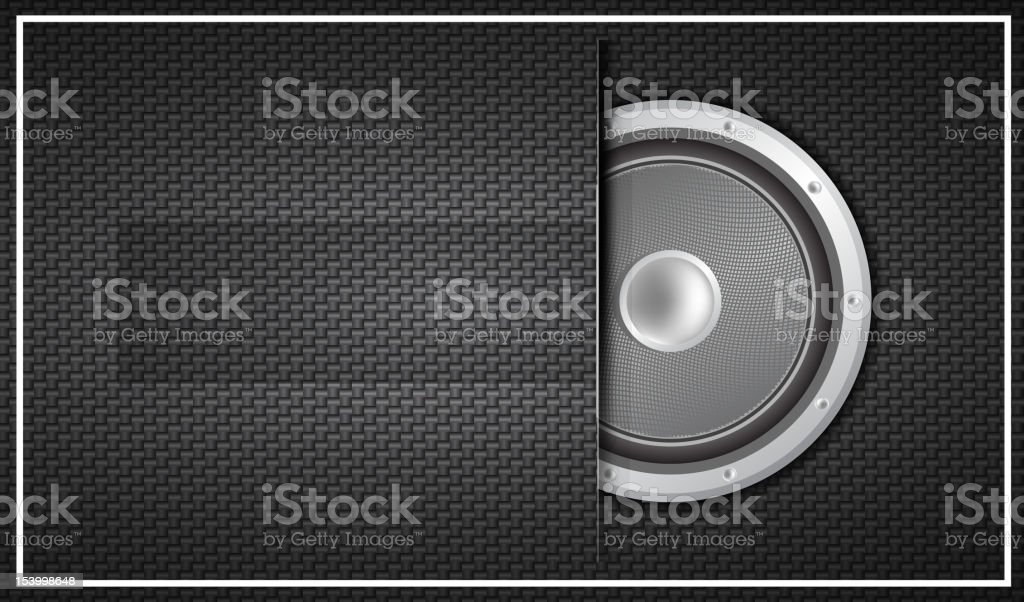 Vector technology style music background royalty-free stock vector art