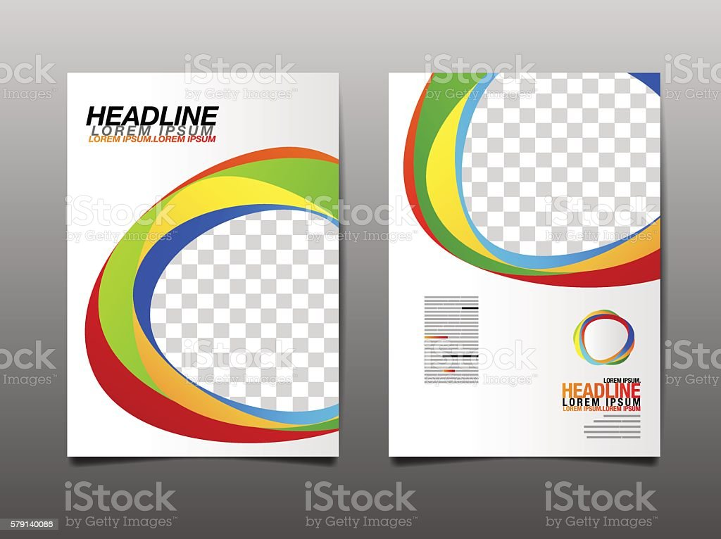 Vector template design vector art illustration