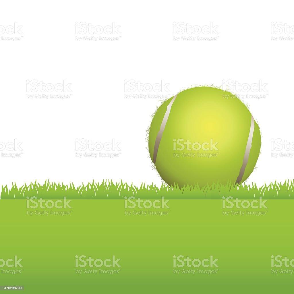 Tenis pelota stock de ilustracion ilustracion libre de stock de - Pelota 2015 Atleta Competici N Deporte Vector Bola De Tenis De C Sped De Fondo Ilustraci N Illustracion Libre