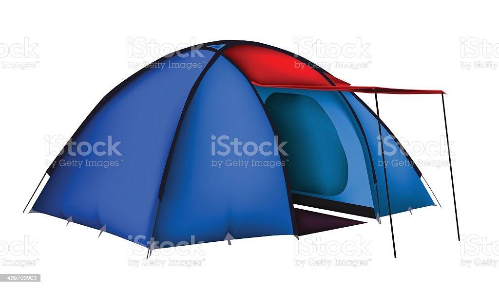 Vecteur de tente stock vecteur libres de droits libre de droits