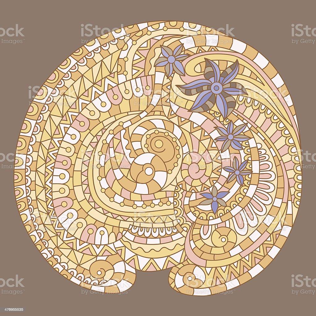 Вектор текстура фон с абстрактными цветами векторная иллюстрация