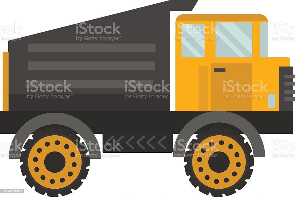 Vector tipper illustration vector art illustration